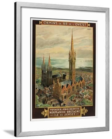 Voyages a Prix Redvits-Marcus Jules-Framed Giclee Print