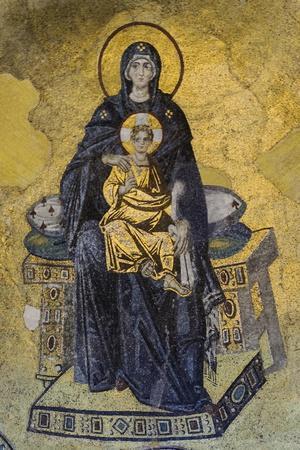 Hagia Sophia-Marcus Jules-Stretched Canvas Print
