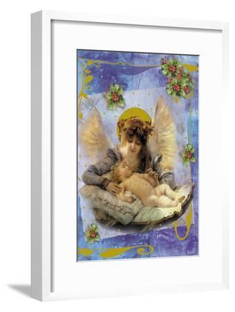 Cach01-Maria Trad-Framed Giclee Print