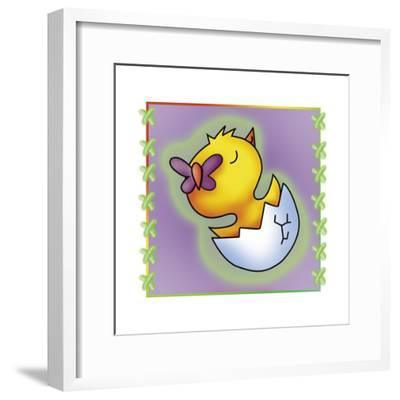 Little Chickens 3-Maria Trad-Framed Giclee Print