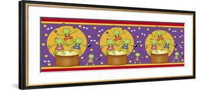 Bar Frog-Maria Trad-Framed Giclee Print
