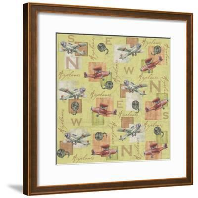 Airplanes-Maria Trad-Framed Giclee Print