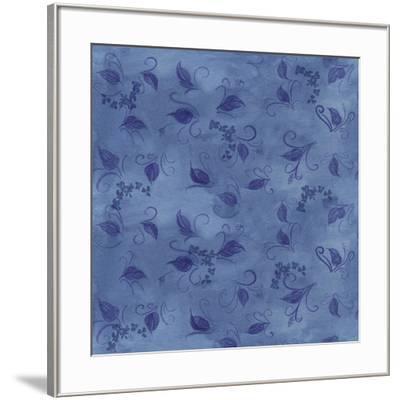 Silk Leaves-Maria Trad-Framed Giclee Print