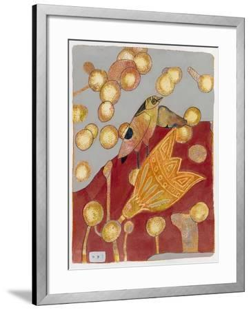 Community Garden 1-Maria Pietri Lalor-Framed Giclee Print