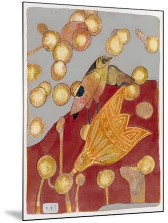 Community Garden 1-Maria Pietri Lalor-Mounted Giclee Print