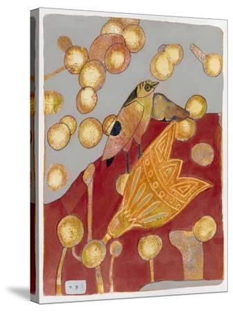 Community Garden 1-Maria Pietri Lalor-Stretched Canvas Print