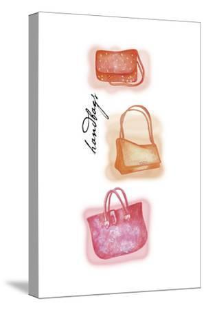 Handbags 2-Maria Trad-Stretched Canvas Print