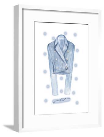 Jacket-Maria Trad-Framed Premium Giclee Print