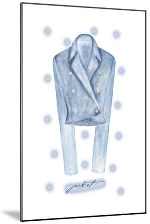 Jacket-Maria Trad-Mounted Premium Giclee Print