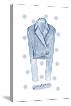 Jacket-Maria Trad-Stretched Canvas Print