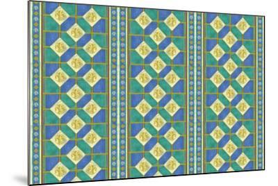 Diamond Pattern-Maria Trad-Mounted Giclee Print