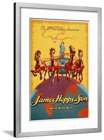 James Hopps and Son-Marcus Jules-Framed Giclee Print
