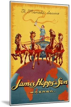 James Hopps and Son-Marcus Jules-Mounted Giclee Print