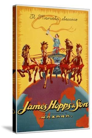 James Hopps and Son-Marcus Jules-Stretched Canvas Print