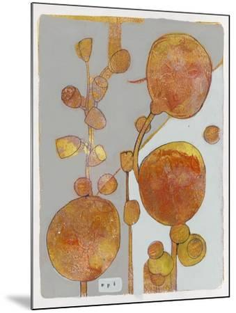 Orange Seed Pods 3-Maria Pietri Lalor-Mounted Giclee Print