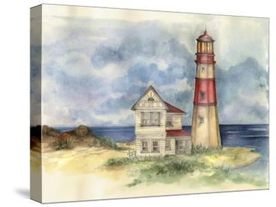 Lighthouse 02-Maria Trad-Stretched Canvas Print