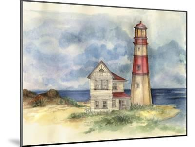 Lighthouse 02-Maria Trad-Mounted Giclee Print