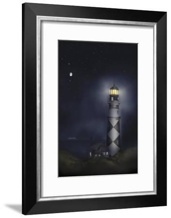 Lighthouse 01B-Maria Trad-Framed Giclee Print