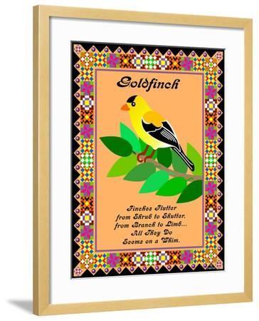 Goldfinch Quilt-Mark Frost-Framed Giclee Print