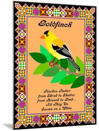 Goldfinch Quilt-Mark Frost-Mounted Giclee Print