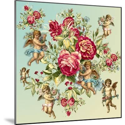 Roses 2-Mark Ashkenazi-Mounted Giclee Print