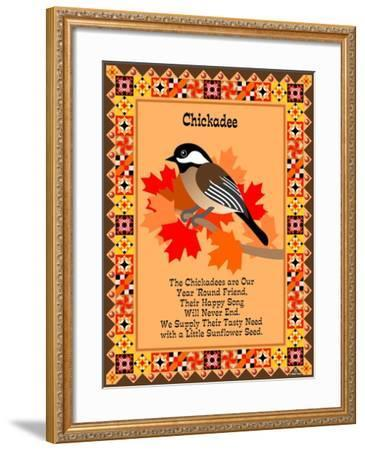 Chicadee Quilt-Mark Frost-Framed Giclee Print