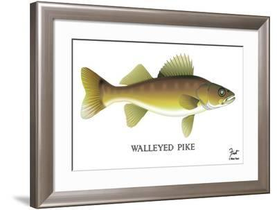 Walleyed Pike-Mark Frost-Framed Giclee Print