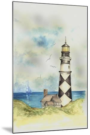Lighthouse 01A-Maria Trad-Mounted Giclee Print