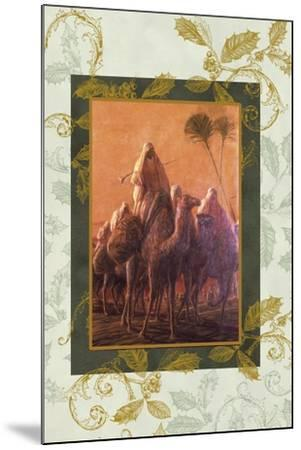 wise men coming to see jesus on camels-Maria Trad-Mounted Giclee Print