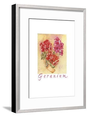 Geraniol SC-Maria Trad-Framed Giclee Print