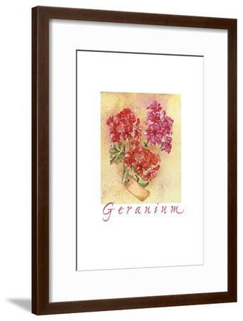 Geraniol SC-Maria Trad-Framed Premium Giclee Print