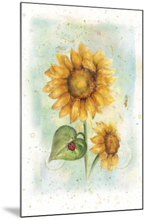 Sunflower-Maria Trad-Mounted Giclee Print