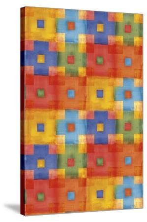 Boys Colors 02-Maria Trad-Stretched Canvas Print