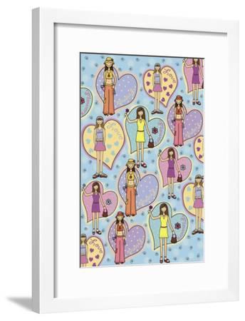 Teen Years-Maria Trad-Framed Premium Giclee Print