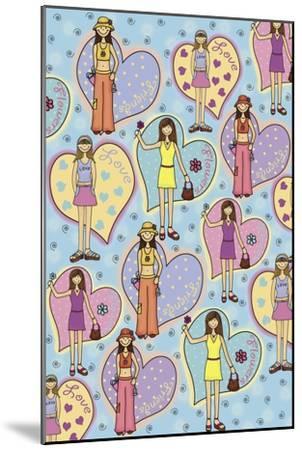 Teen Years-Maria Trad-Mounted Premium Giclee Print