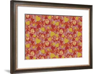 Hearts-Maria Trad-Framed Giclee Print