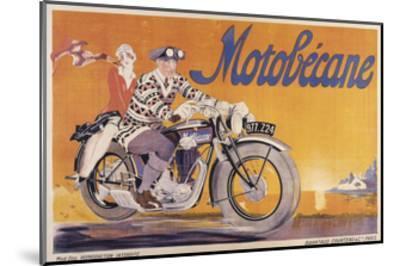 Motobecane-Marcus Jules-Mounted Giclee Print