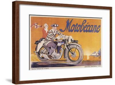 Motobecane-Marcus Jules-Framed Giclee Print
