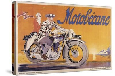 Motobecane-Marcus Jules-Stretched Canvas Print