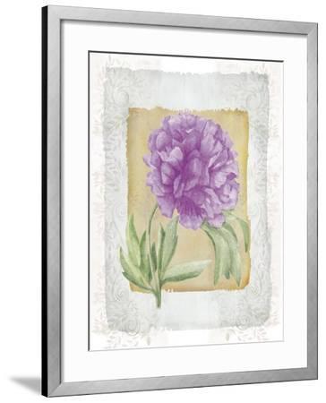 Peonies 3-Maria Trad-Framed Giclee Print