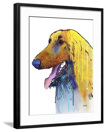 Afghan Hound 2-Marlene Watson-Framed Giclee Print