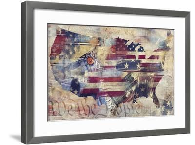 We The People-Mindy Sommers-Framed Giclee Print