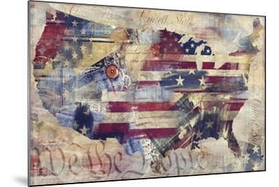 We The People-Mindy Sommers-Mounted Giclee Print