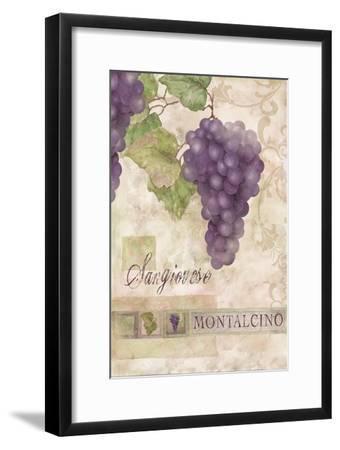 Montalcino Sangiovese 2-Maria Trad-Framed Premium Giclee Print