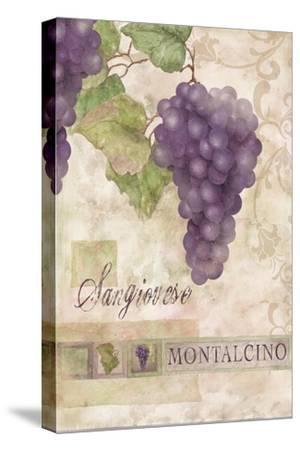 Montalcino Sangiovese 2-Maria Trad-Stretched Canvas Print