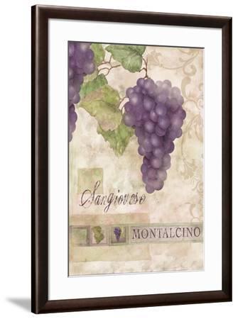 Montalcino Sangiovese 2-Maria Trad-Framed Giclee Print
