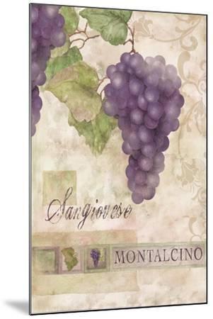 Montalcino Sangiovese 2-Maria Trad-Mounted Giclee Print