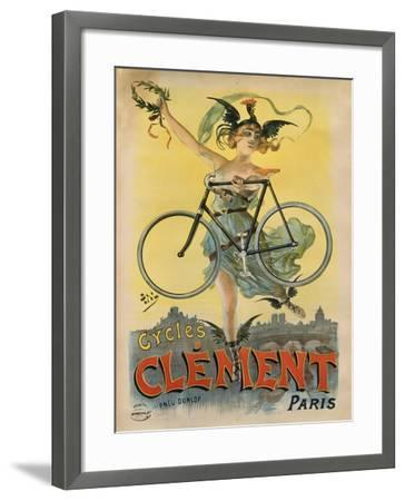 Cycles Clement Paris-Marcus Jules-Framed Giclee Print