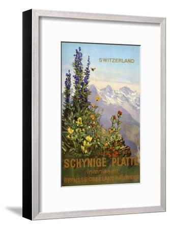 Switzerland View-Marcus Jules-Framed Giclee Print