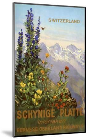 Switzerland View-Marcus Jules-Mounted Giclee Print